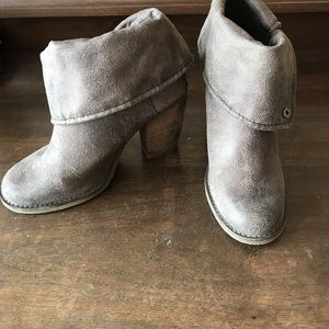 suede heels from Sbicca